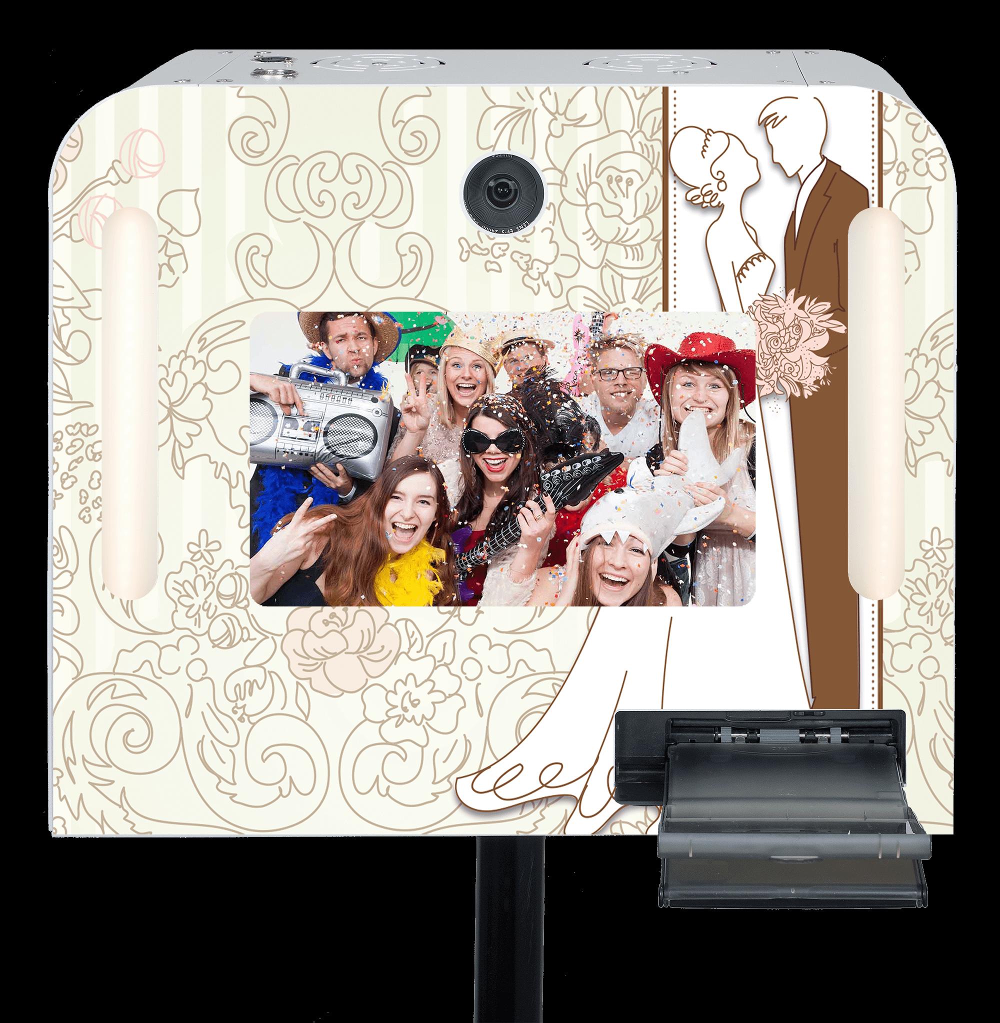 """Hochzeits-Fotobox """"Brautpaar""""mieten"""