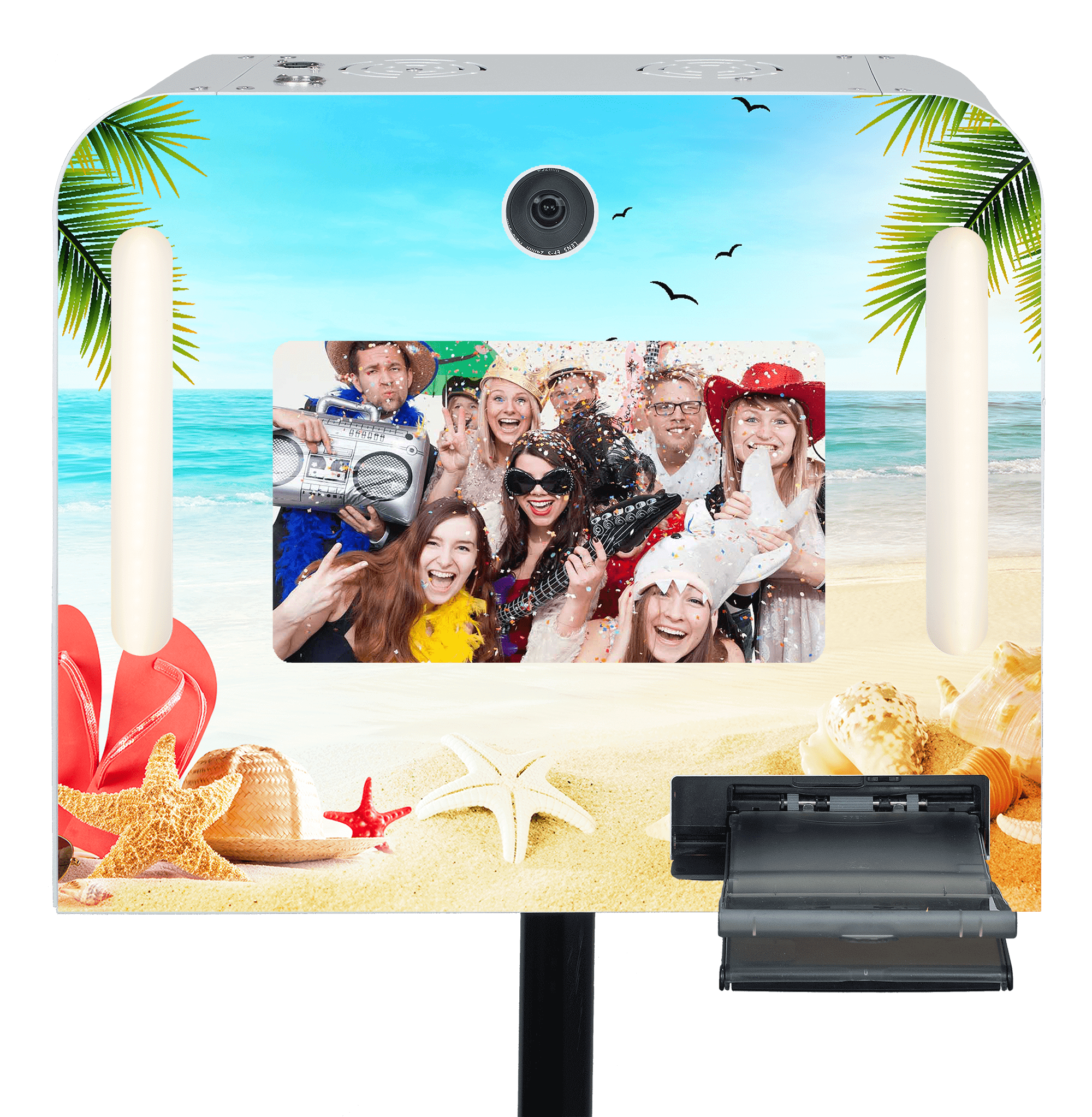 "Fotobox ""Beachparty"" mieten."