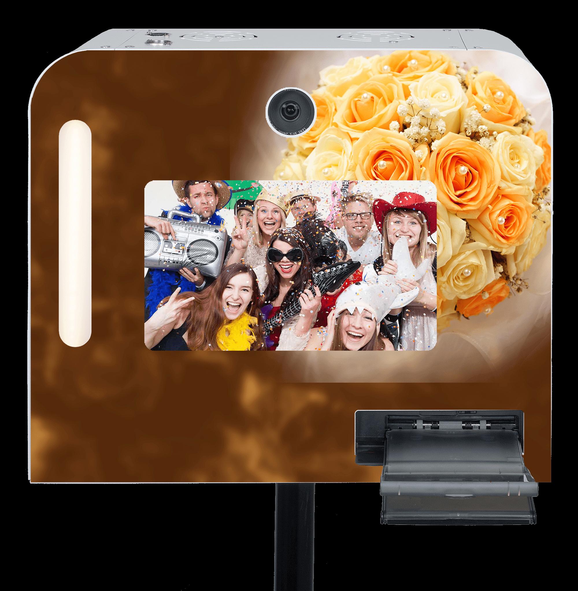 """Hochzeits-Fotobox """"Rosentraum"""" mieten."""
