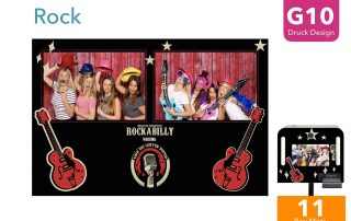 G10 | Rock (Fotobox Drucklayout)