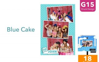 G15 | Blue Cake (Fotobox Drucklayout)