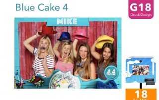G18   Blue Cake 4 (Fotobox Drucklayout)
