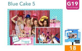 G19   Blue Cake 5(Fotobox Drucklayout)