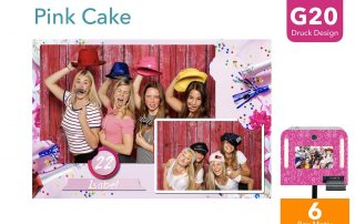 G20   Pink Cake(Fotobox Drucklayout)