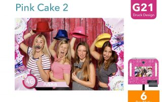 G21 | Pink Cake 2 (Fotobox Drucklayout)