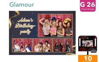 G26 | Glamour (Fotobox Drucklayout)
