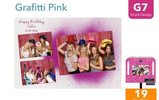 G7 | Graffiti Pink (Fotobox Drucklayout)