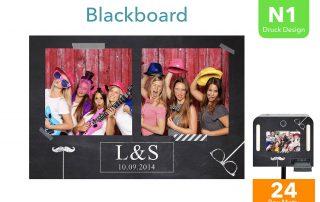 N1   Blackboard (Fotobox Drucklayout)