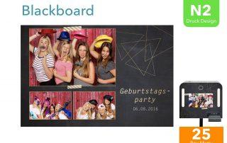 N2   Blackboard (Fotobox Drucklayout)