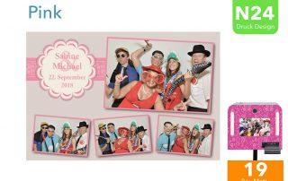N24   Pink (Fotobox Drucklayout)
