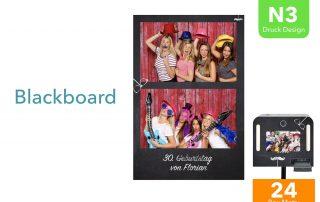N3 | Blackboard (Fotobox Drucklayout)