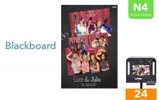 N4   Blackboard (Fotobox Drucklayout)